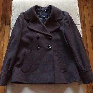 Banana Republic Brown Winter Coat